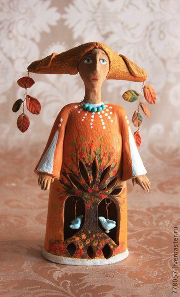 Статуэтки ручной работы. Ярмарка Мастеров - ручная работа лесная фея. Handmade.