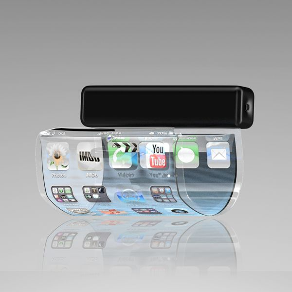 Finally IPhone Announced The Concept Of Flexible Bracelet