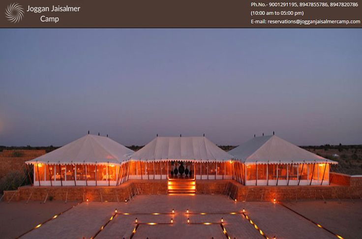 Get the ultimate camping experience by staying in Luxury Tents in Jaisalmer, organized by Joggan Jaisalmer Camp. Our luxury tents are designed with all modern facilities for offering all comfort of life. Visit--> http://goo.gl/0ZjFPc