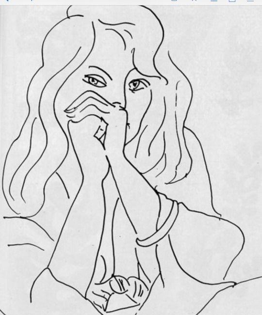 Henri Matisse - Woman with Loose Hair