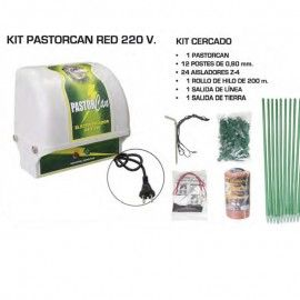 155€// 60m2   Kit Pastorcan Red 220 V Pastor eléctrico para perros