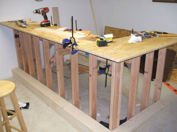 Unique How to Build A High top Bar Table