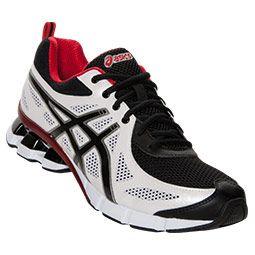 Men's Asics GEL-Fierce Running Shoes | FinishLine.com | White/Black/