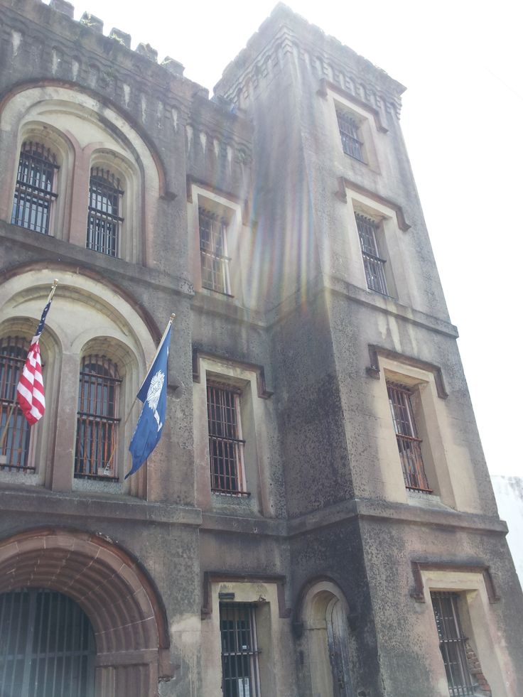 The old city jail is one of the most haunted locations in for Most haunted places in south carolina