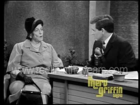Novelist Pearl S Buck Interview Merv Griffin Show