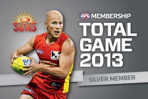 Gold Coast SUNS Club Support Membership Card