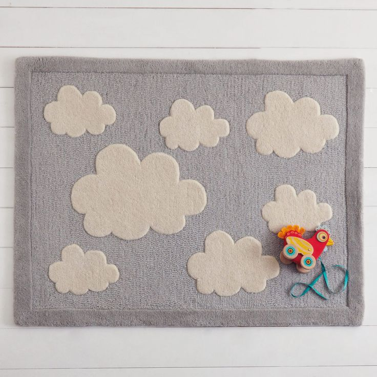 Give your kids a soft, cosy place to play with this fabulous, hand-tufted wool rug.