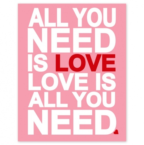 All You Need Is Love By The Beatles