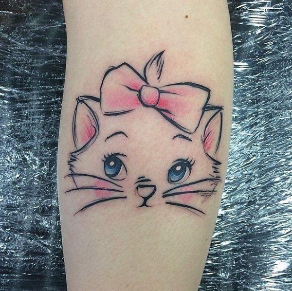 Tribal Hello Kitty: 17 Best Ideas About Kitty Tattoos On Pinterest