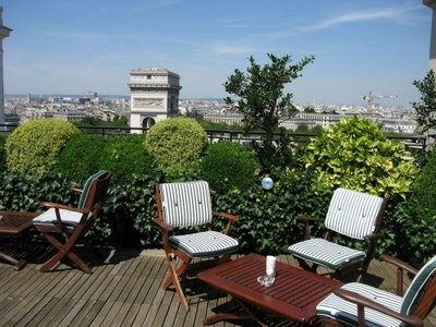 La terrasse du Raphaël