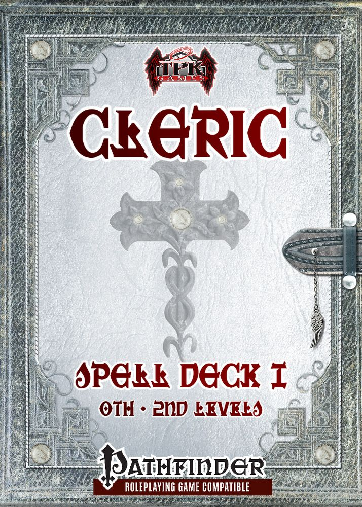 Details about Cleric Spell Deck I [Pathfinder