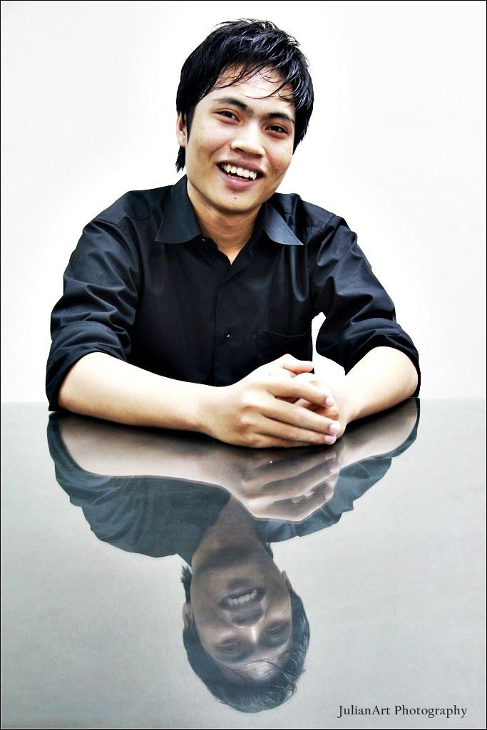Andri Siswanto - Web Service Operator. The silent boy.