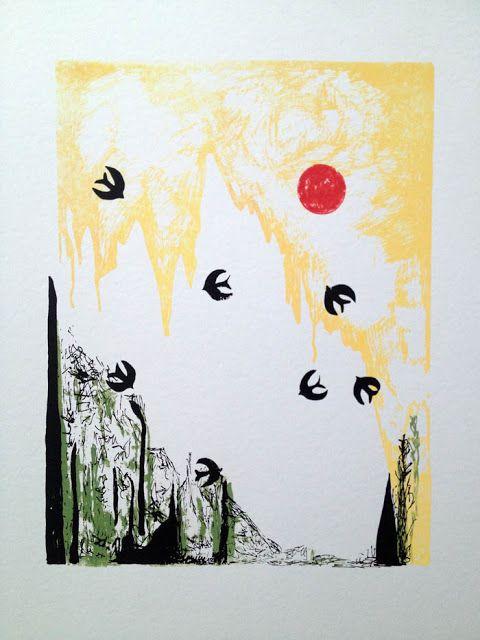 """Svalor"" - Graphic print by Anna Olsson"