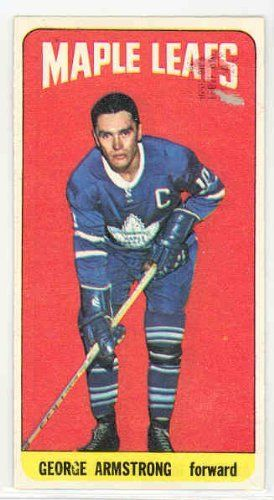 1964 Topps Hockey 69 George Armstrong