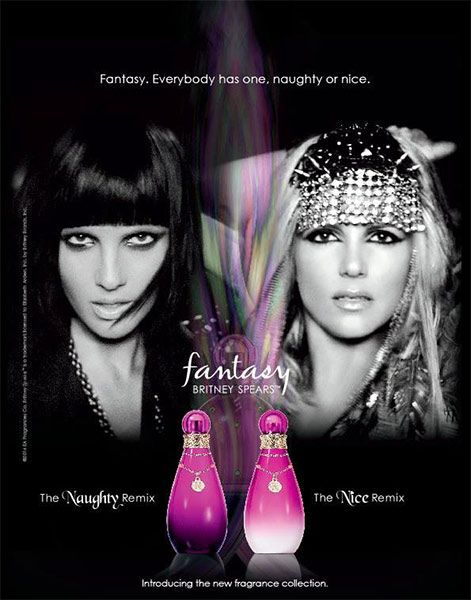 Britney Officially Announces Naughty/Nice Remix Fragrance