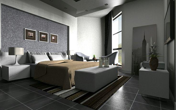 Simply Elegant Interior Rendering Created In Keyshot By