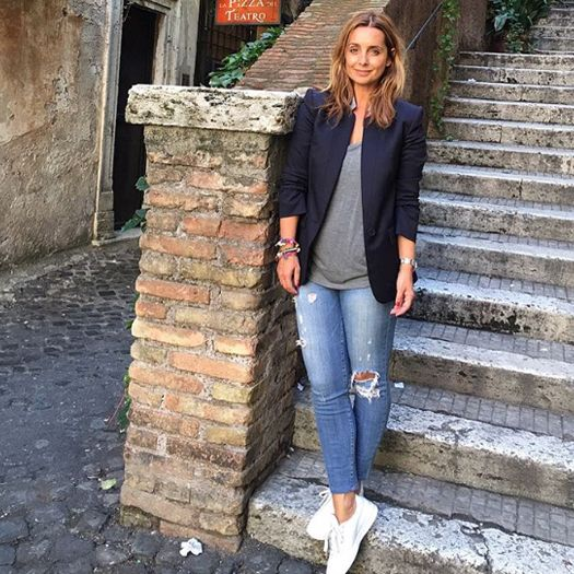Louise Redknapp In Stella McCartney blazer | DRESSR