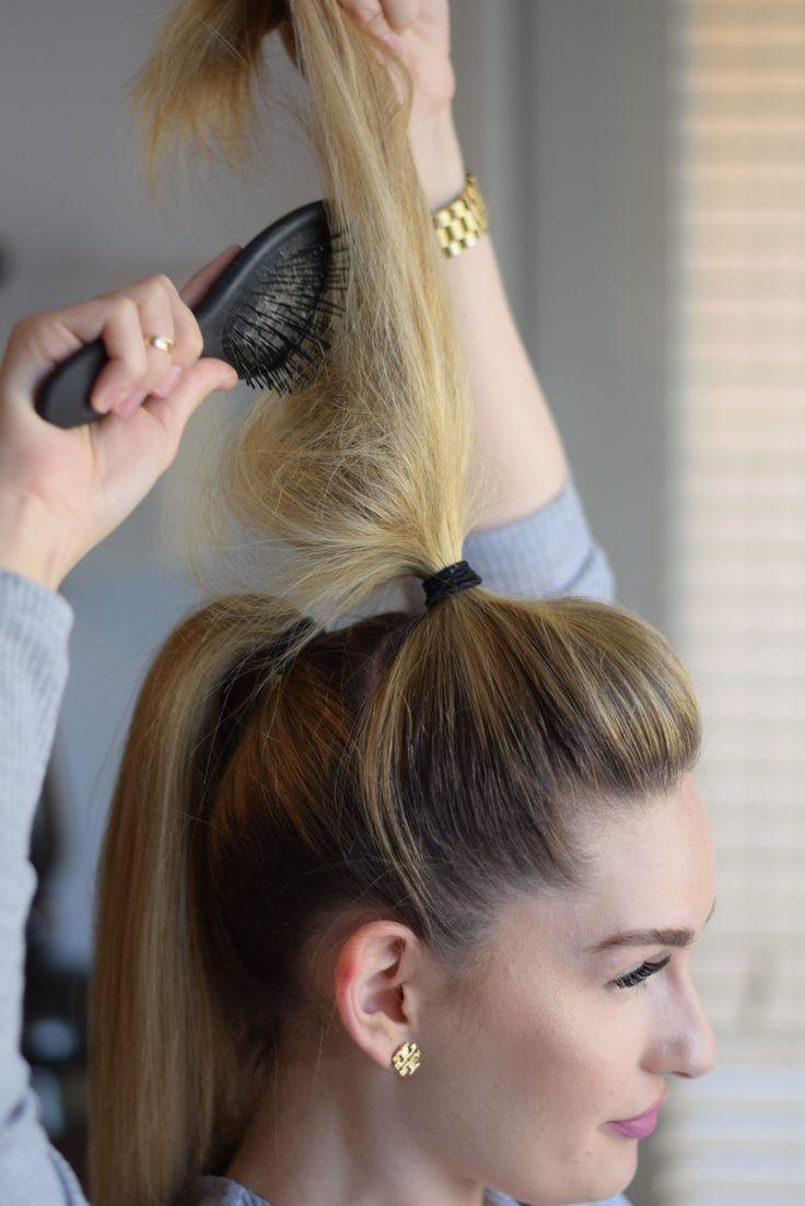 best 25+ voluminous ponytail ideas on pinterest | voluminous hair