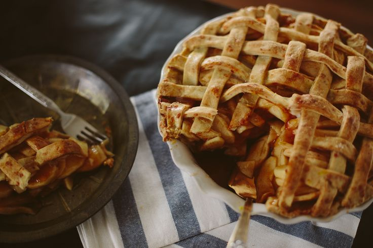 Dubliner Brandy Apple Pie with cheese baked into the crust