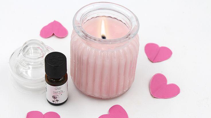 Selbst gemachte Anti Stress mit Rose und Lavendel
