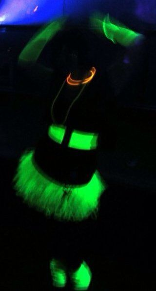 UV glow in the dark fancy dress