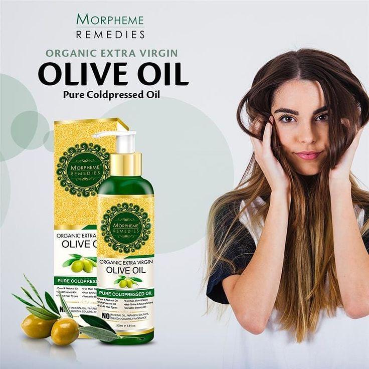 Morpheme Organic Extra Virgin Olive Oil For Hair, Skin