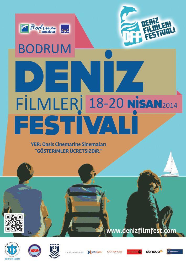 Bodrum Deniz Filmleri Festival Afişi
