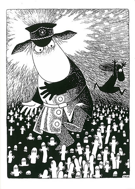 Moominsummer Madness by Tove Jansson. Stop buying the cups, bowls, biscuit tins and read the books!
