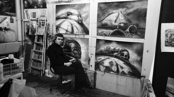 Se ha muerto un grande que nos dio uno de los mejores diseños de monstruos del cine :( H.R. Giger.