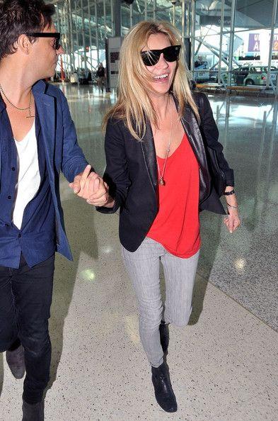 Kate Moss Sydney International Airport July 26 2011