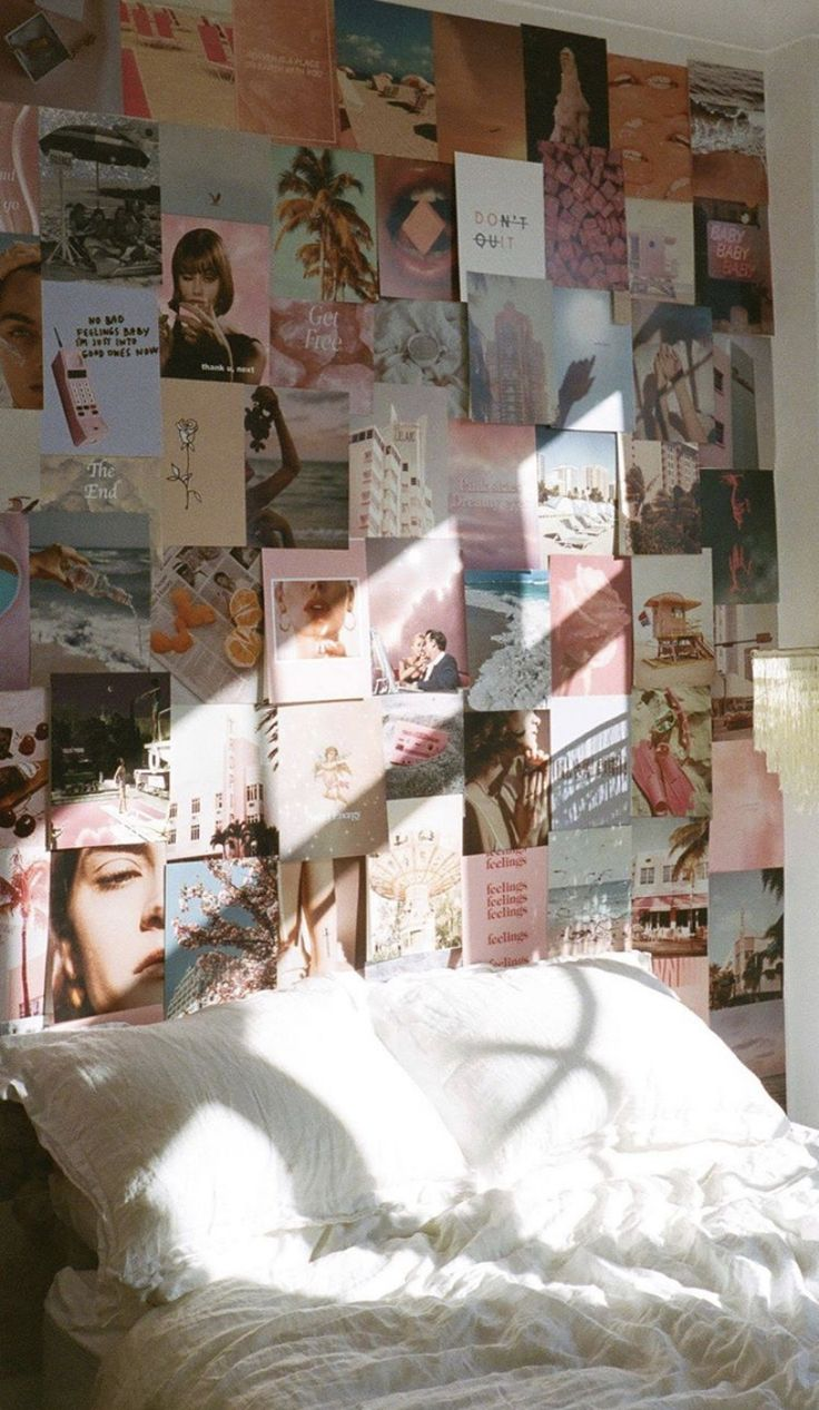 Dream Kit in 2020 | Wall collage, Photo walls bedroom ...