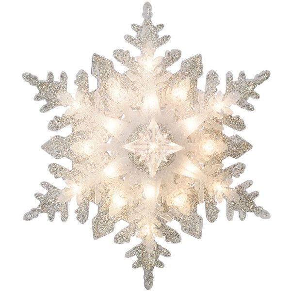 GE Holiday Classics Snowflake ❤ liked on Polyvore featuring home, home decor, holiday decorations, filler, ge, snow flake christmas lights, ge christmas lights and holiday lights