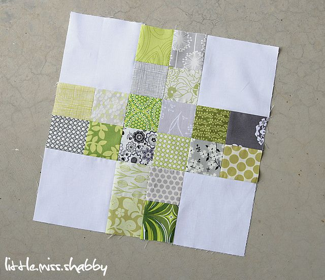 Scrappy Plus Block -- Do Good Stitches