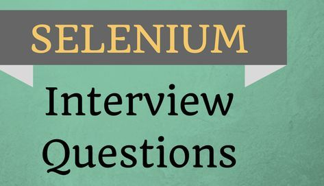 Top 10 Selenium Interview Questions with Answers? Automation testing is a process of automating the manual process to test the application/system under test. It uses separate testing tools which facilitate you to create test scripts which can be executed repeatedly and doesn't need any manual intervention.