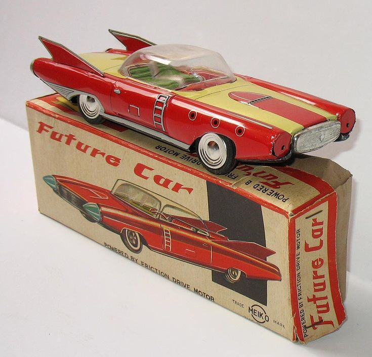 Retro Top Toys : Best vintage friction powered toys images on