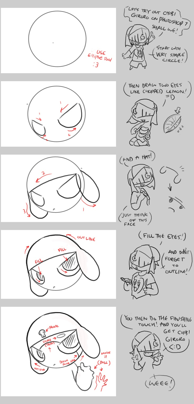 79 best images about chibi style on pinterest chibi for How to draw cute people