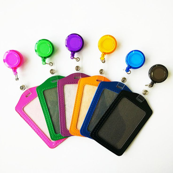 Cheap Bank Credit Card Holders PU Card Bus ID Holders Identity Badge with Retractable Reel wholesale #>=#>=#>=#>=#> Click on the pin to check out discount price, color, size, shipping, etc. Save and like it!