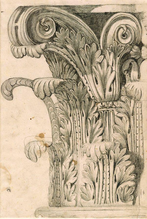 Giovanni Battista Piranesi | 1720-1778 | Design for a Corinthian Capital | The Morgan Library & Museum