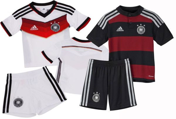 Die neuen DFB Trikots zur WM 2014 - inklusive Shorts