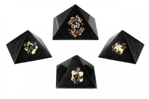 Pyramids with zodiac sign by ShungiteofKarelia on Etsy