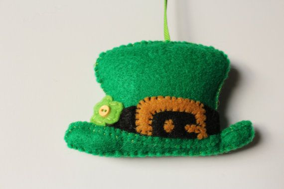 Check out this item in my Etsy shop https://www.etsy.com/listing/194486912/irish-ornament-irish-leprechaun-hat-st