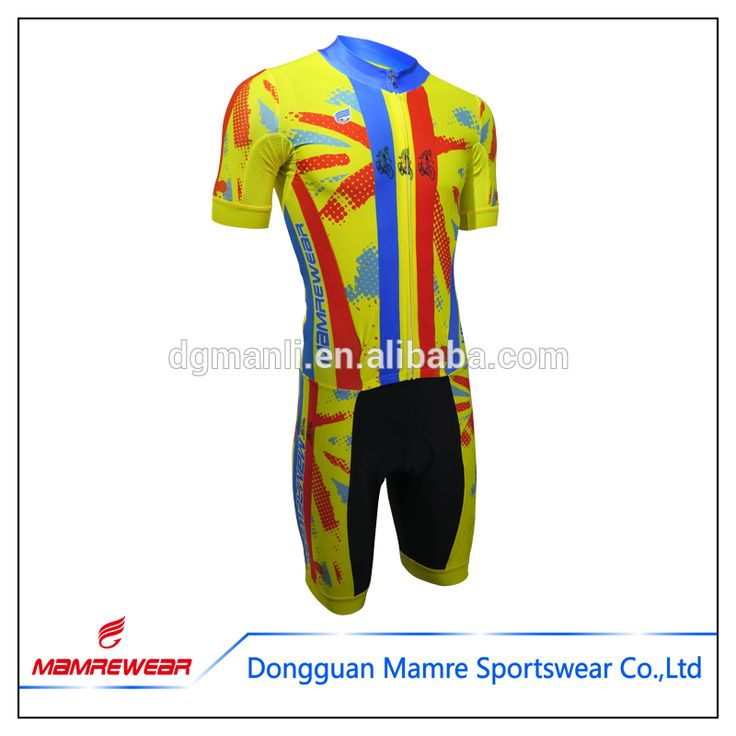 Customized colorful design cycling suits mountain bike clothing, Triathlon bike cycling clothing