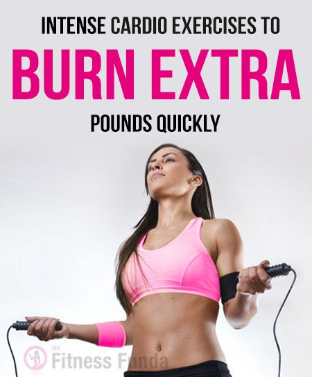 Intense #Cardio Exercises To Burn Extra Pounds Quickly. Have you ever thought which Cardo Workouts will help you to burn extra pounds faster? Here we will guide you on low and high itnesity