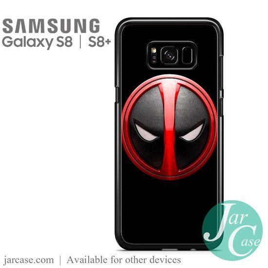Deadpool Emblem Phone Case for Samsung Galaxy S8 & S8 Plus