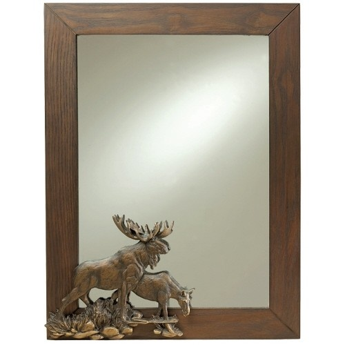 Best Moose Wall Mirror Images On Pinterest - Moose wall decor