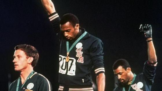 45 Years Ago Today: John Carlos and Tommie Smith Give Black Power Salute at 1968 Olympic Games