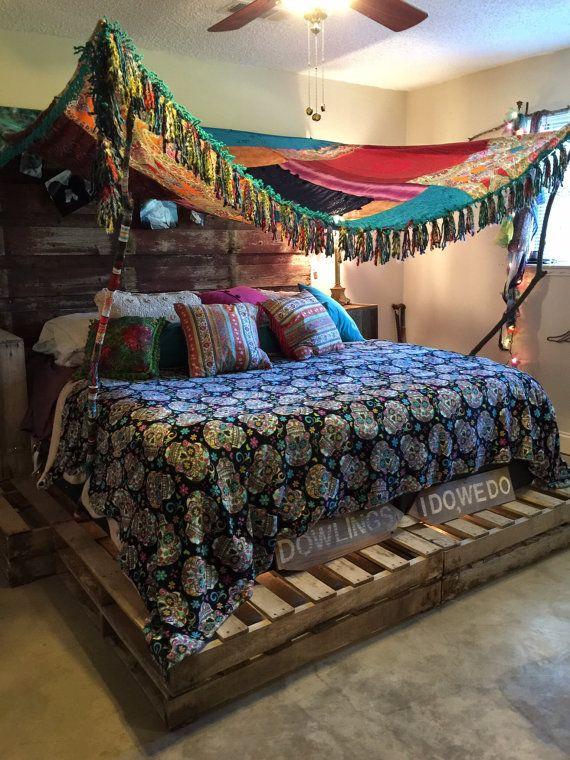 SALE Boho, Gypsy, Canopy, Bedspread, Tent, Wedding Backdrop, Yoga Tent, Tee Pee, Festival Tent, Tapestry, Tea Party Tent