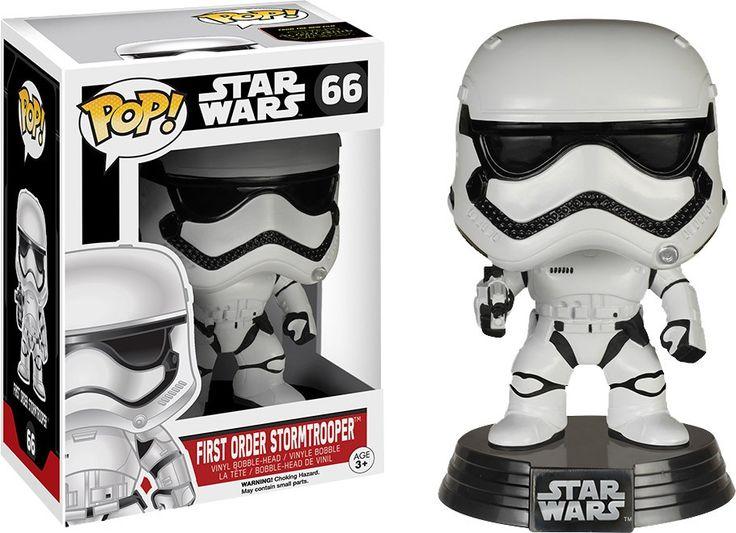 Pop! Vinyl - Star Wars - First Order Stormtrooper Episode 7 The Force Awakens #66