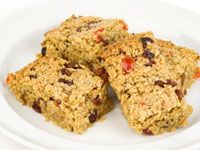 Banana Flapjacks for kids - from netmums. with ripe bananas, oats and raisins - easy