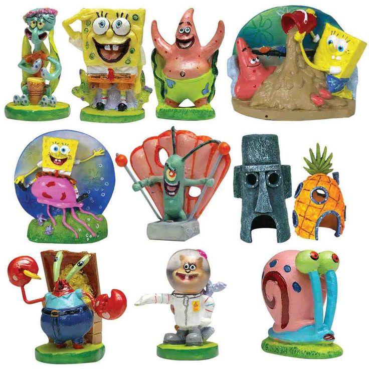 8 best spongebob squarepants aquarium ideas images on for Spongebob fish tank accessories